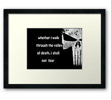 No FeAr! Framed Print