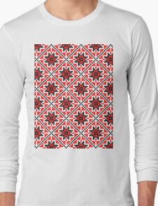 romanian traditional Long Sleeve T-Shirt