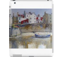 Blue House and Lady J iPad Case/Skin