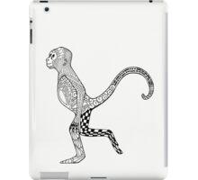 Zentangle Monkey iPad Case/Skin