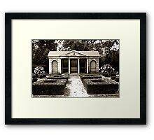 The Old Garden House Framed Print
