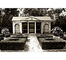 The Old Garden House Photographic Print