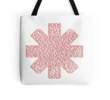 Red Hot Chili Peppers Songs Tote Bag