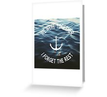 Forget The Rest Greeting Card