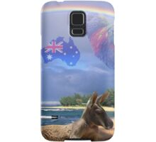 Kangaroo and Lorikeet Samsung Galaxy Case/Skin