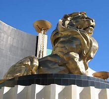 MGM VEGAS LION by suzin68