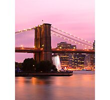 Early Evening in New York Photographic Print
