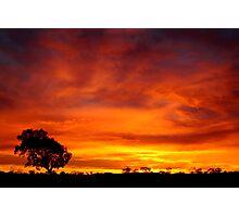 Sunrise, Batton Hill,Simpson Desert,N.T.  Photographic Print