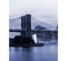 New York in Black and White Photographic Print