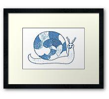 Sheldon Blue Framed Print