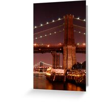Brooklyn Promonade View Greeting Card