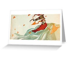 shoe boat Greeting Card