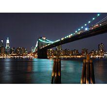 East River New York City Photographic Print