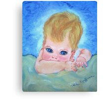 """Baby Blues"" Canvas Print"