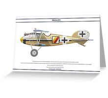 Albatros D.V Jasta 14 - 1 Greeting Card