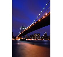 Blue Sky New York Photographic Print