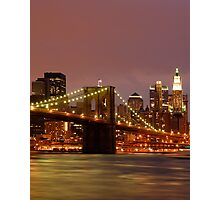Evening Sky New York Photographic Print