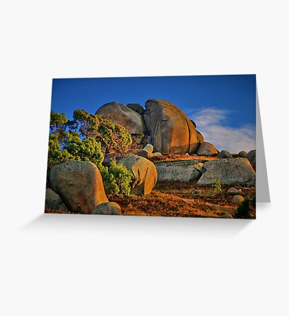 """Rock of Ages"" Greeting Card"