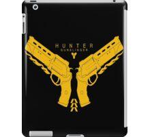 Hunter Gunslinger - Destiny  iPad Case/Skin