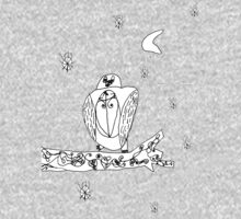 Beauty Owl in Snow Kids Clothes