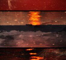Sunset Style Sticker