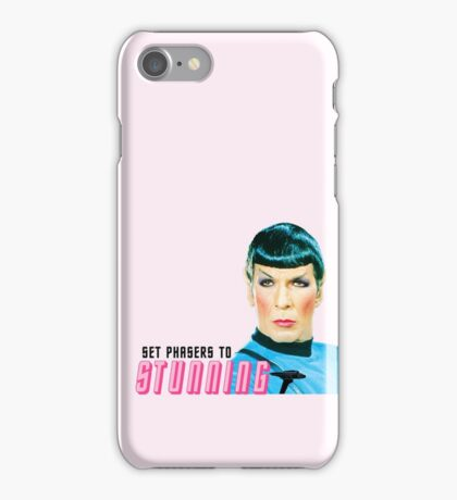 Set phasers to stunning, Mr. Spock iPhone Case/Skin