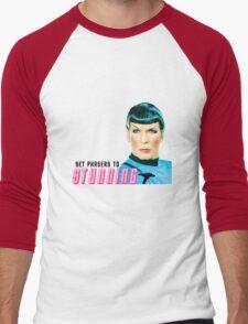 Set phasers to stunning, Mr. Spock Men's Baseball ¾ T-Shirt