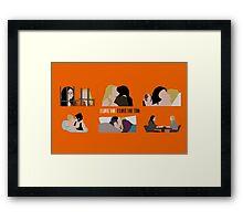 OITNB-Vauseman Season 2 Framed Print