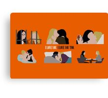 OITNB-Vauseman Season 2 Canvas Print