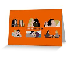 OITNB-Vauseman Season 2 Greeting Card