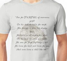 Turtle Beam Rhyme Unisex T-Shirt