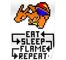 Charizard used Flame Wheel Poster