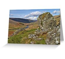One Day in the Highlands Greeting Card