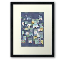 Windows and doors Framed Print
