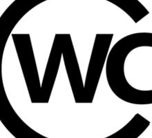 WCCC Logo Sticker