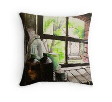 The Stable Window Throw Pillow