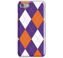 Clemson Argyle iPhone Case/Skin
