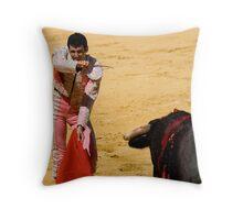 The Matador Throw Pillow