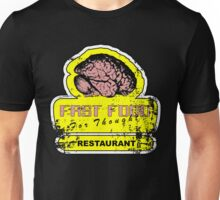 Fast food for thought (Distressed look) Unisex T-Shirt