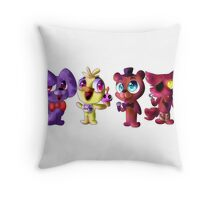 Five (Adorable) Nights at Freddy's Throw Pillow