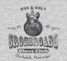 Black Crossroads Blues Club by OnionSkin