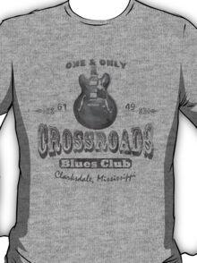 Black Crossroads Blues Club T-Shirt