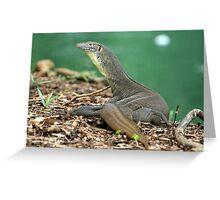Merton's Water Dragon Greeting Card