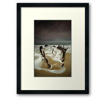 Vertical Dicky Framed Print