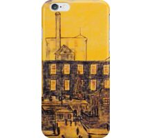 Workers  ending  a shift(a  tribute  to  L.S  LOWERY) iPhone Case/Skin