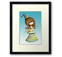Party Girl Sky Framed Print