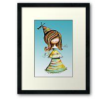 Party Girl Sky Framed Print