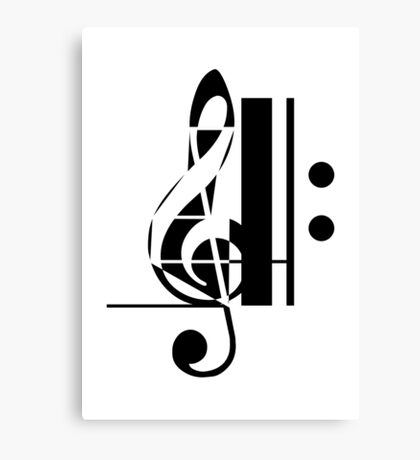 The Sight of Music (4) Canvas Print