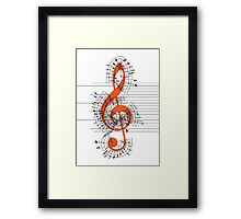 The Sight of Music Framed Print