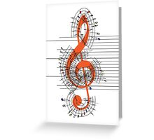 The Sight of Music Greeting Card